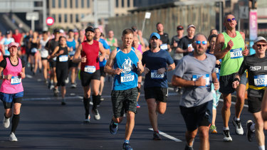 More than 11,000 runners took part in the SMH Half Marathon.