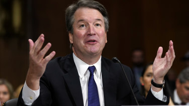 Brett Kavanaugh looks set to become a US Supreme Court justice.