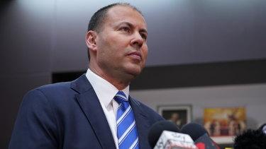 Australian Minister for the Environment and Energy Josh Frydenberg.