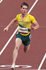 Australia's Rohan Browning.