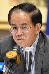 Fanning the flames: Chinese Ambassador to Australia Cheng Jingye.