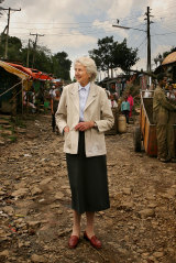 Dr Catherine Hamlin, Addis Ababa Fistula Hospital & Bahir Dar Fistula Clinic, Ethiopia, 2008.