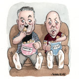 Home Affairs Minister Peter Dutton and Finance Minister Mathias Cormann are flatmates.