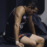 Carlton's Eddie Betts in a scene from Making Their Mark.