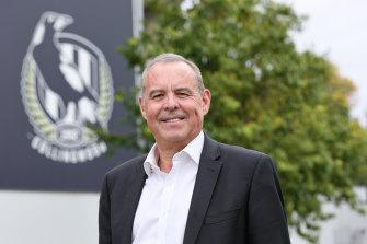 New Collingwood president Mark Korda.