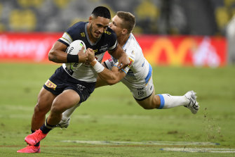 Valentine Holmes wishes his exit from Cronulla had played out differently.
