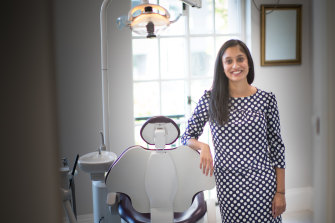 Melbourne dentist Gitika Sanghvi