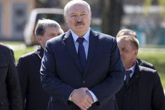 Belarus's President Alexander Lukashenko.