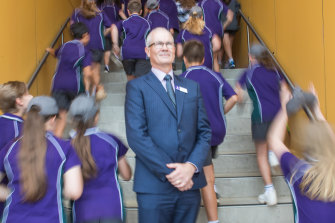 Brighton Secondary College principal Richard Minack.