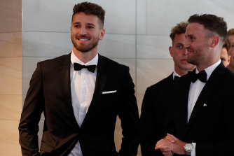 Marcus Bontempelli at the Brownlow Medal count.