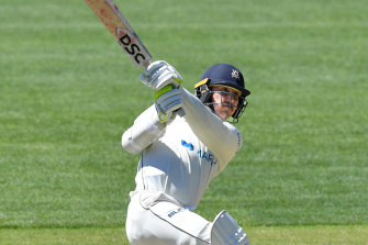 Nic Maddinson in action last month.
