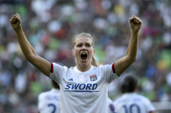 Ada Hegerberg is among a long list of stars who Ellie Carpenter will soon call teammates at Lyon.