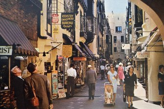 London Court in the 1970s.