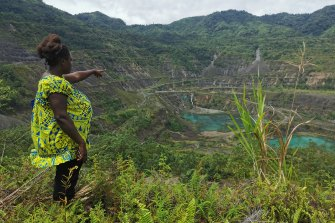 People who live close to Bougainville's abandoned Panguna mine have been pushing for Rio to fund a clean-up.