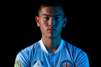 Kerrin Stokes hopes to one day play for Manchester City in the Premier League.