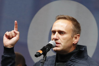 Russian opposition leader Alexei Navalny is recovering in a German hospital.