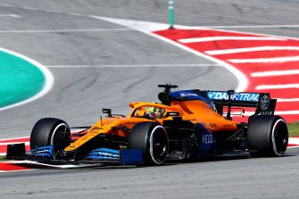 McLaren driver Lando Norris is feeling much more confident heading to Melbourne this time.