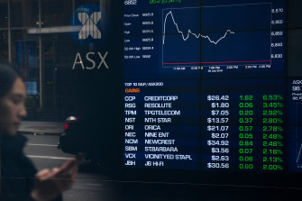 The local bourse ended the session just shy of a fresh record high.