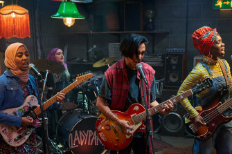 A group of young women form a punk band and puncture perceptions of Muslims in the wickedly funny We Are Lady Parts.