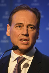Federal Health Minister Greg Hunt is trying to allay concerns around My Health Record.