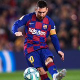 Messi makes it three for good measure.
