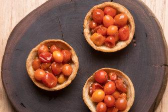 The tomato tart.