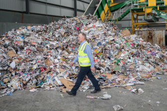 Australian Paper Recovery managing director Darren Thorpe.