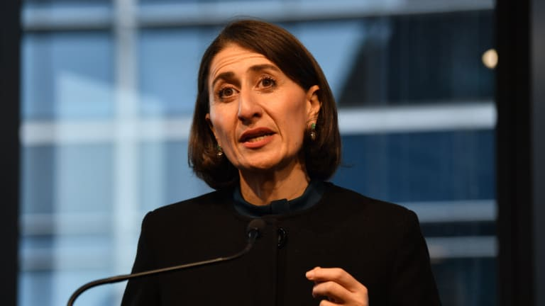 NSW Premier Gladys Berejiklian has ordered her ministers to steer clear of the Foley drama.