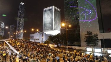 Unions have opposed the Hong Kong Free Trade Agreement following months of civil unrest.