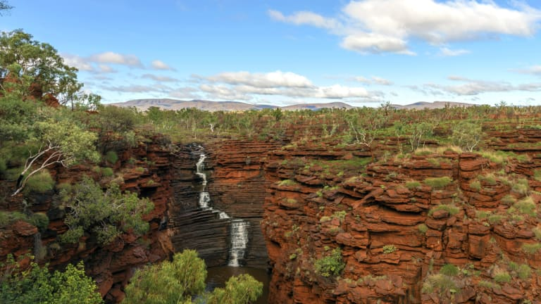 Wage earners in the Shire of Ashburton, which is home to Karijini National Park (pictured), have the highest median income in Australia.