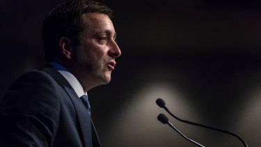Matthew Guy as opposition leader.