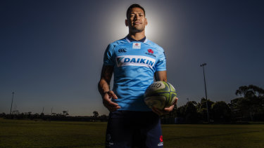 Missing in action: Israel Folau may never play in a NSW jersey again.