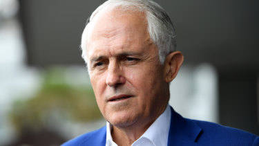 Raised the alarm on Huawei: former prime minister Malcolm Turnbull.
