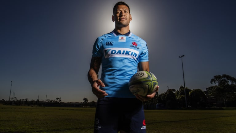 Israel Folau produced his best rugby in a season interrupted by injury and controversy.