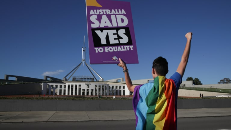 The Ruddock review was commissioned last year amid the debate over same-sex marriage.