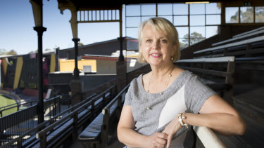 Peggy O'Neal is the first female president of an AFL club and has received an Order of Australia honours.