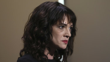 Actress Asia Argento said she was extorted by Jimmy Bennet