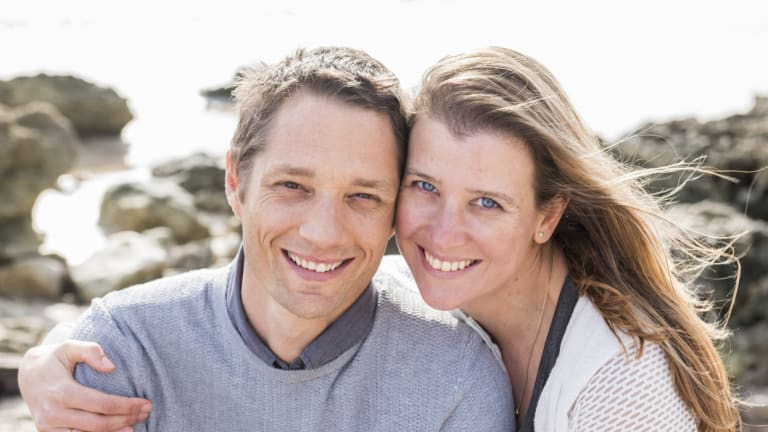 MOJO's founders Anthony and Sarah Crabb.