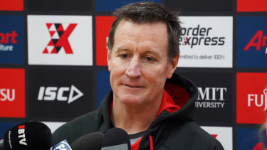 Bombshell: Essendon coach John Worsfold left to rue more losses due to injury after the Dreamtime loss to Richmond.