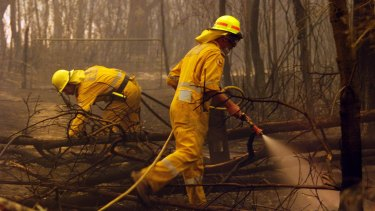 Queensland's rural fire brigades want better legal and insurance coverage.