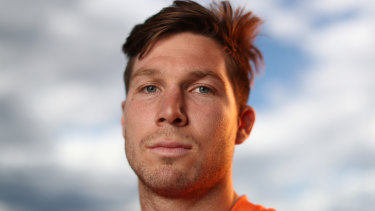 Toby Greene has served his time and is ready for his first AFL grand final.