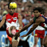 From the Archives, 2006: Six-goal Hall sets up Swans prelim win over Freo