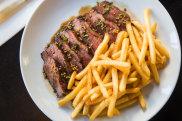 Steak frites at Bar Clementine, in Pyrmont