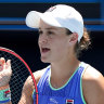 Ash Barty is chasing a place in the quarterfinals.