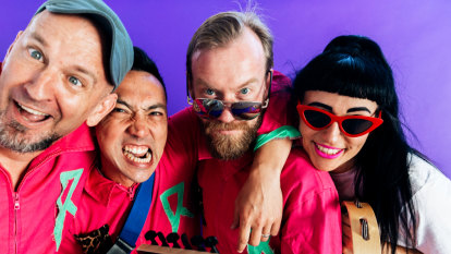 Regurgitator, Dan Sultan among rockers reaching a younger audience