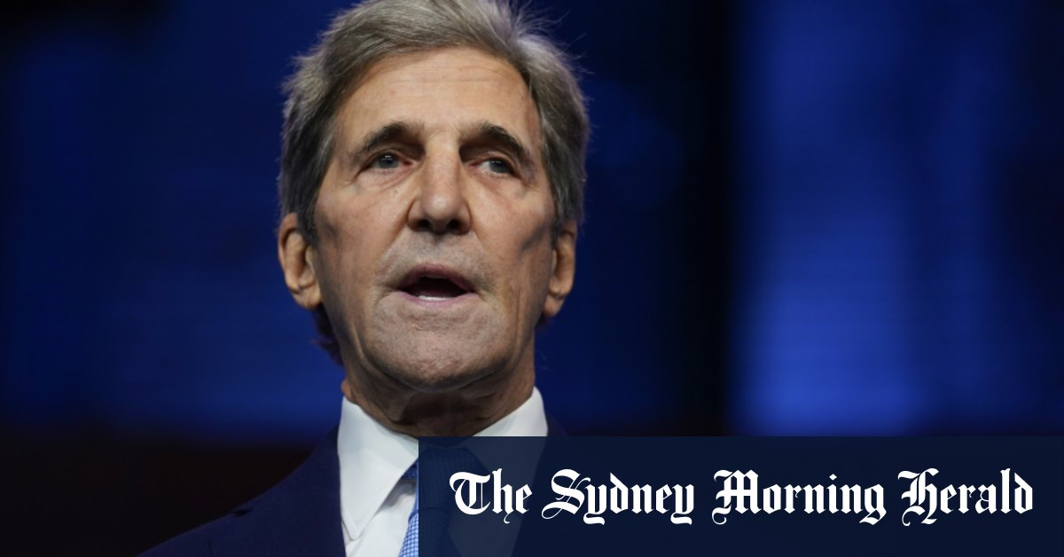 'Stop us in our tracks': Biden's new climate chief John Kerry invokes Australian bushfires – Sydney Morning Herald