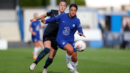 Kerr on target as Chelsea ease home against Manchester City in the WSL