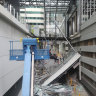 'We thought it was lightning': Westralia Square walkway collapses