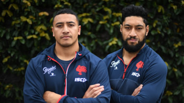 It's a case of No JWH, No Worries for Roosters props Sio Siua Taukeiaho and Isaac Liu.