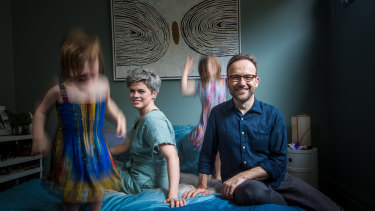 The Greens leadership will mean Adam Bandt is away from home and his young family even more. But he and wife Claudia Perkins say it is worth it to address climate change.